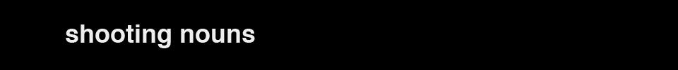 Shooting Nouns logo